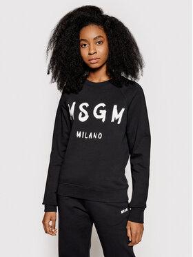 MSGM MSGM Bluză 3041MDM89 217299 Negru Regular Fit