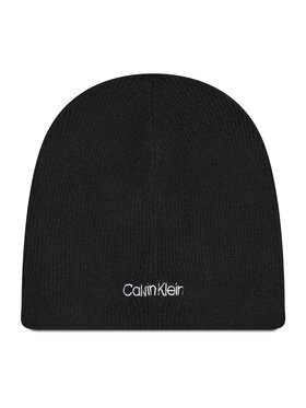 Calvin Klein Calvin Klein Σκούφος Basic Wool No Fold Beanie K50K507444 Μαύρο