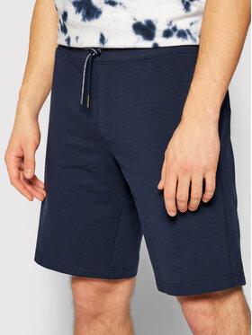 Guess Guess Pantaloncini sportivi Nigel M1GD54 K6ZS1 Blu scuro Slim Fit