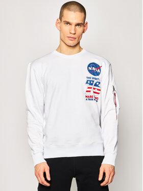 Alpha Industries Alpha Industries Sweatshirt VIKING Basic Sweater 126321 Blanc Regular Fit