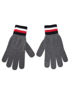 Tommy Hilfiger Tommy Hilfiger Мъжки ръкавици Corporate Gloves AM0AM06586 Сив