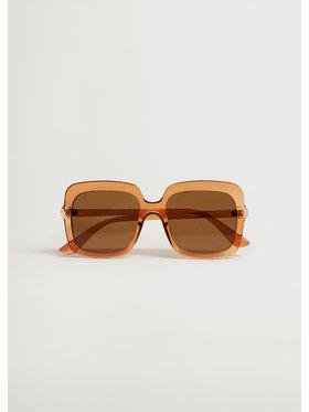 Mango Mango Okulary przeciwsłoneczne Charlote 87035685 Brązowy