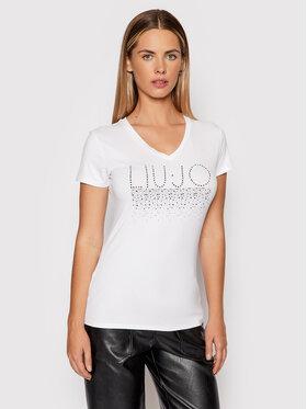 Liu Jo Liu Jo T-Shirt 5F1110 J7905 Biały Regular Fit