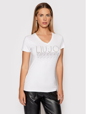Liu Jo Liu Jo T-shirt 5F1110 J7905 Blanc Regular Fit