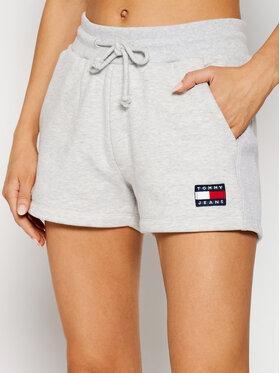 Tommy Jeans Tommy Jeans Športové kraťasy Tjw Badge DW0DW09754 Sivá Regular Fit