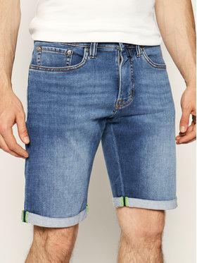 Pierre Cardin Pierre Cardin Szorty jeansowe 3033/6100 Granatowy Regular Fit
