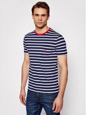 Polo Ralph Lauren Polo Ralph Lauren T-Shirt Ssl 710823561001 Dunkelblau Slim Fit