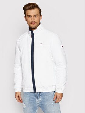 Tommy Jeans Tommy Jeans Преходно яке Essential DM0DM10975 Бял Regular Fit