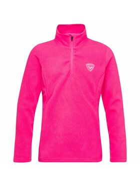 Rossignol Rossignol Bluza Girl ½ Zip Fleece RLIYL06 Różowy Regular Fit