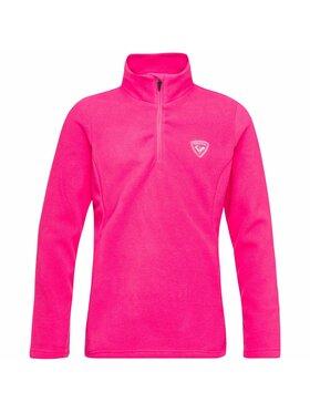Rossignol Rossignol Mikina Girl ½ Zip Fleece RLIYL06 Růžová Regular Fit