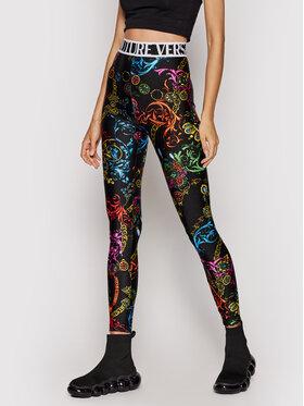 Versace Jeans Couture Versace Jeans Couture Legginsy Lycra St Print Baroque Bijou 71HAC101 Kolorowy Slim Fit