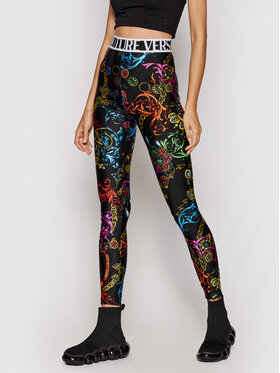 Versace Jeans Couture Versace Jeans Couture Legíny Lycra St Print Baroque Bijou 71HAC101 Farebná Slim Fit