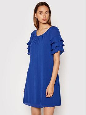 DKNY DKNY Koktejlové šaty DD1ED684 Modrá Regular Fit