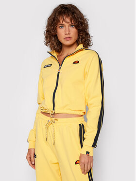 Ellesse Ellesse Bluza Laboria SGK12339 Żółty Cropped Fit