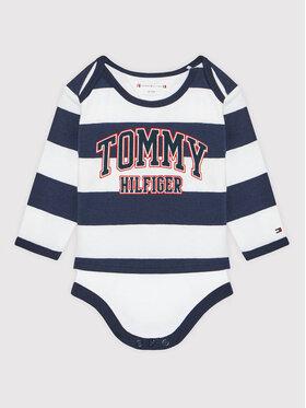 Tommy Hilfiger Tommy Hilfiger Body dziecięce 2 Piece KN0KN01243 Granatowy