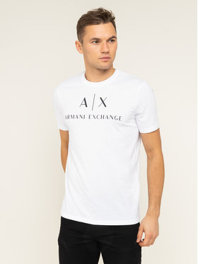 Armani Exchange Armani Exchange Póló 8NZTCJ Z8H4Z 1100 Fehér Slim Fit