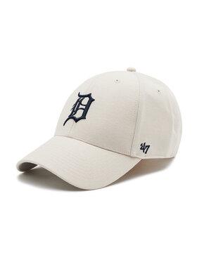 47 Brand 47 Brand Czapka z daszkiem Detroit Tigers B-MVP09WBV-BN Beżowy