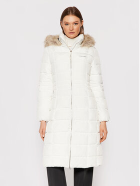 Calvin Klein Calvin Klein Pehelykabát Essential K20K203130 Fehér Regular Fit