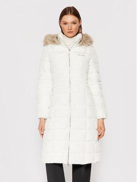 Calvin Klein Calvin Klein Vatovaná bunda Essential K20K203130 Bílá Regular Fit