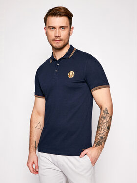 Roy Robson Roy Robson Polo 4809-90 Bleu marine Regular Fit