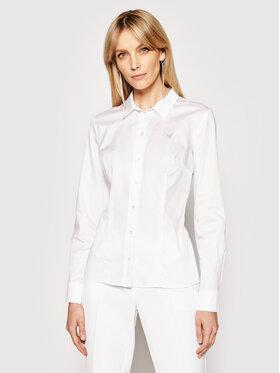 Guess Guess Camicia Cate W1RH41 WAF10 Bianco Slim Fit
