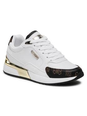 Guess Guess Sneakersy Moxea FL5MOX FAL12 Biały