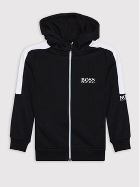 Boss Boss Bluza J25N09 S Czarny Regular Fit
