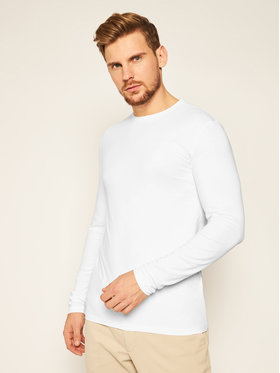 Trussardi Jeans Trussardi Jeans Longsleeve 52T00376 Bianco Regular Fit