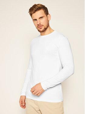 Trussardi Jeans Trussardi Jeans Marškinėliai ilgomis rankovėmis 52T00376 Balta Regular Fit