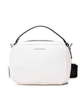 Calvin Klein Jeans Calvin Klein Jeans Дамска чанта Trapezoid Shadow Camera Bag K60K608382 Бял