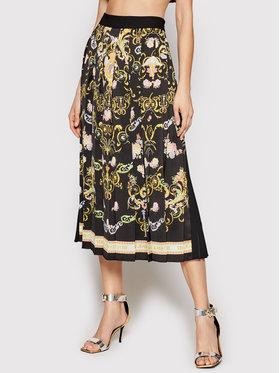 Versace Jeans Couture Versace Jeans Couture Plisovaná sukňa A9HWA321 Čierna Regular Fit