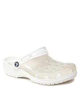 Crocs Crocs Шльопанці Classic Translucent Clog 206908 Білий