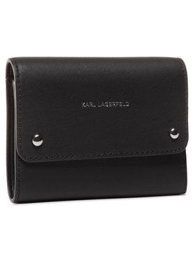 KARL LAGERFELD KARL LAGERFELD Veľká dámska peňaženka 205W3226 Čierna