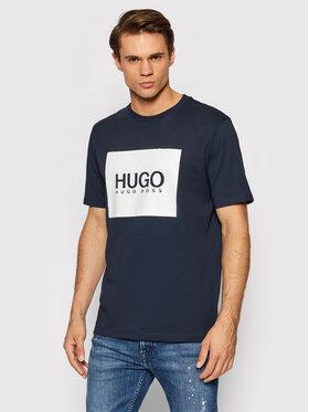 Hugo Hugo T-Shirt Dolive214 50456378 Dunkelblau Regular Fit