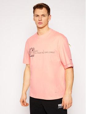 Puma Puma T-shirt MICHAEL LAU 2Long 530362 Rose Loose Fit