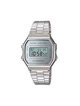 Casio Casio Laikrodis Vintage A168WEM-7EF Sidabrinė
