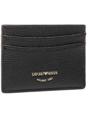 Emporio Armani Emporio Armani Kreditinių kortelių dėklas Y3H013 YFW9B 80001 Juoda