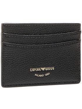 Emporio Armani Emporio Armani Pouzdro na kreditní karty Y3H013 YFW9B 80001 Černá