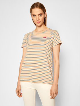Levi's® Levi's® T-Shirt The Perfect Tee 39185-0088 Béžová Regular Fit
