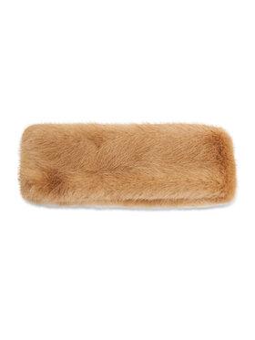 Barts Barts Textilná čelenka Fur Headband 01190242 Hnedá