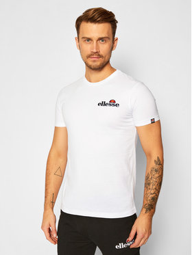 Ellesse Ellesse T-Shirt Voodoo SHB06835 Biały Regular Fit