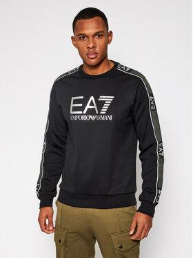 EA7 Emporio Armani EA7 Emporio Armani Sweatshirt 6HPM03 PJ3MZ 1200 Schwarz Regular Fit