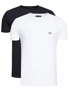 Emporio Armani Underwear Emporio Armani Underwear 2-dílná sada T-shirts 111267 1P720 11010 Černá Regular Fit