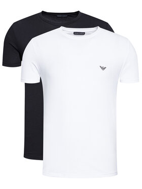 Emporio Armani Underwear Emporio Armani Underwear 2 marškinėlių komplektas 111267 1P720 11010 Juoda Regular Fit