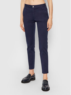 United Colors Of Benetton United Colors Of Benetton Pantaloni chino 4GD7558S3 Bleumarin Slim Fit