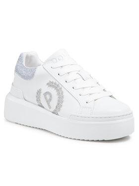 Pollini Pollini Sneakersy SA15014G1CXA110D Biały