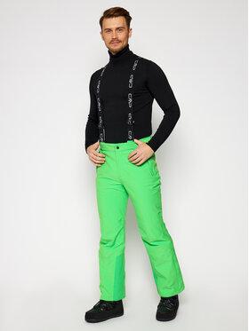 CMP CMP Lyžiarske nohavice 3W17397N Zelená Regular Fit