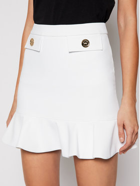 Elisabetta Franchi Elisabetta Franchi Trapecijos formos sijonas G0-462-11E2-V220 Smėlio Regular Fit