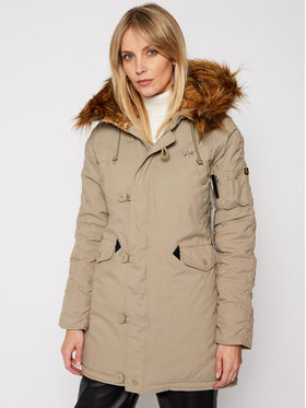 Alpha Industries Alpha Industries Parka Explorer 143048 Zelená Regular Fit