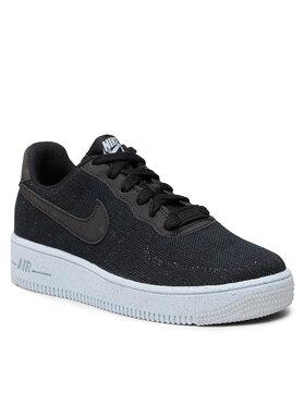 Nike Nike Взуття AF1 Crater Flyknit (GS) DH3375 001 Чорний
